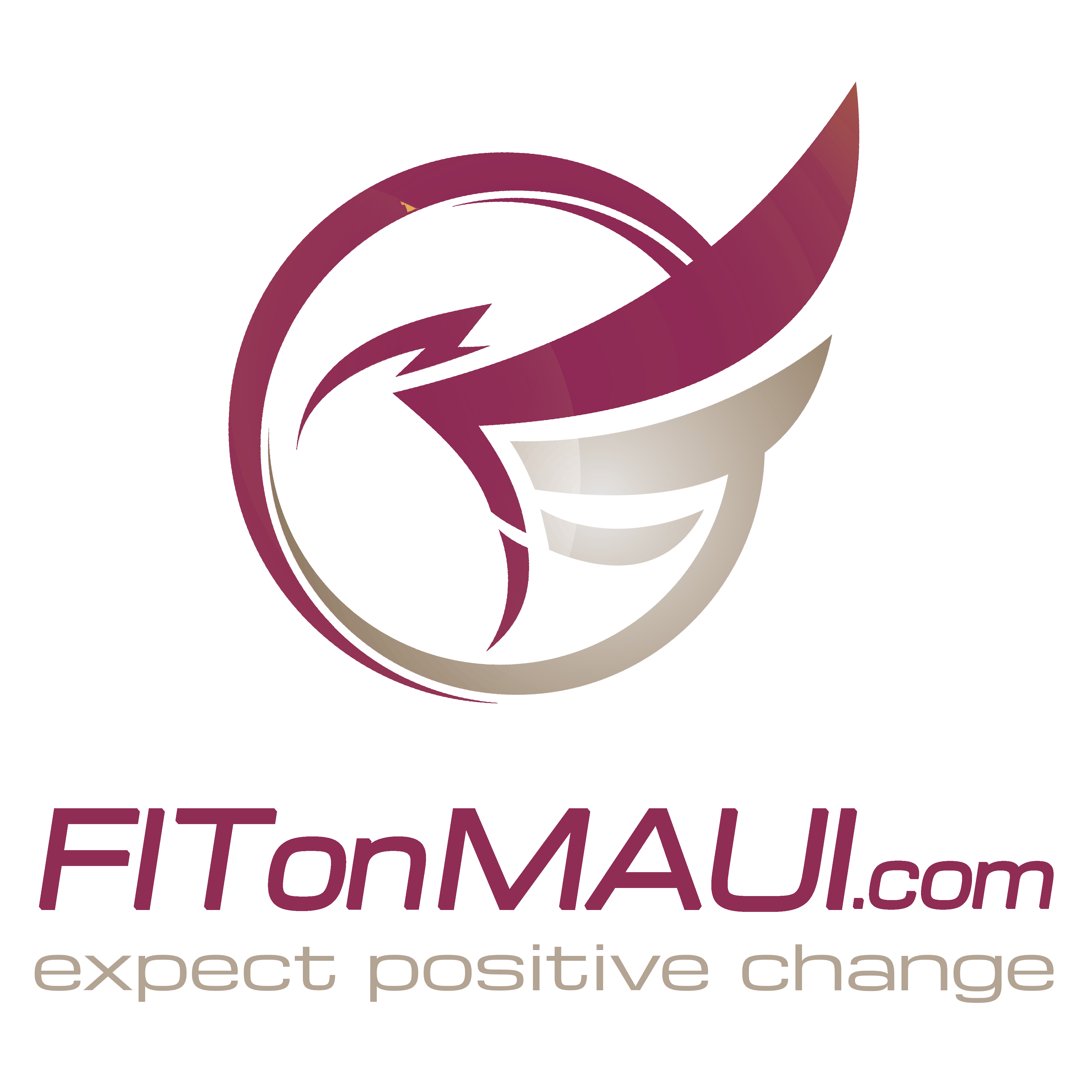Fit on Maui Logo