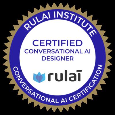 rulai-certified-conversational-AI-designer